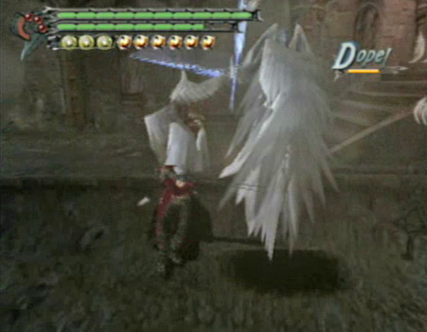 devil may cry 1 how to do air raid